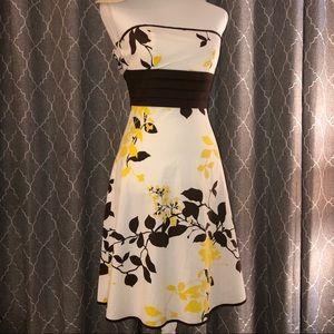 EUC Speechless Strapless Dress